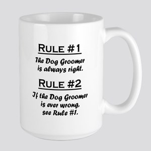 Dog Groomer Large Mug