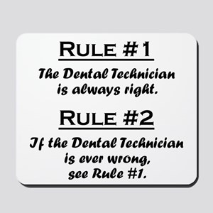 Dental Technician Mousepad
