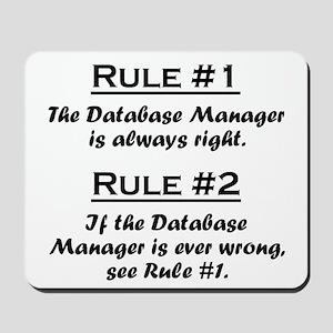 Database Manager Mousepad