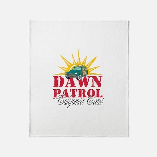 Dawn Patrol CA Throw Blanket