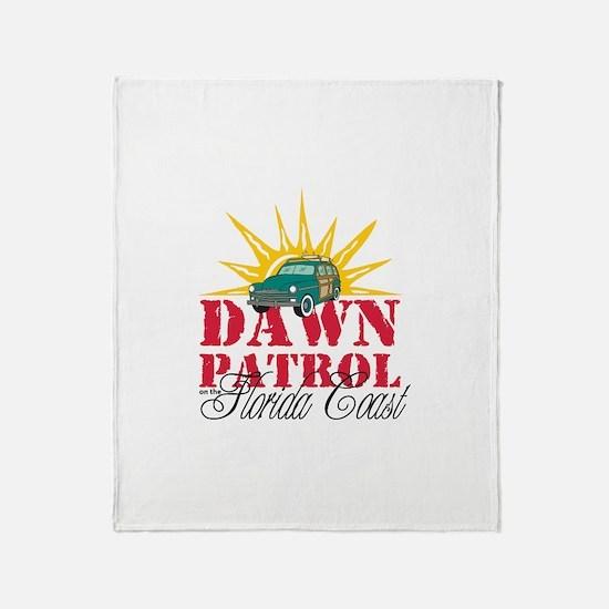 Dawn Patrol FL Throw Blanket