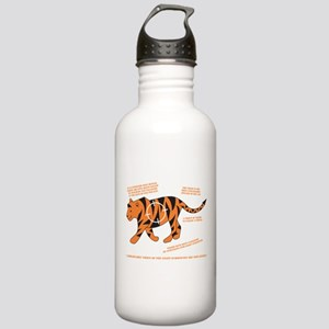 Tiger Facts Stainless Water Bottle 1.0L