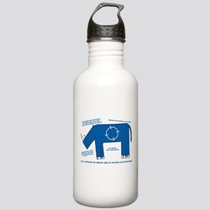 Rhino Facts Stainless Water Bottle 1.0L