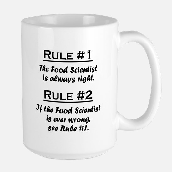 Food Scientist Large Mug