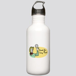 Shank You Very Much! Stainless Water Bottle 1.0L