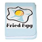 Fried Egg baby blanket