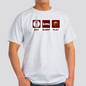 Eat Sleep Play Basketball Light T-Shirt