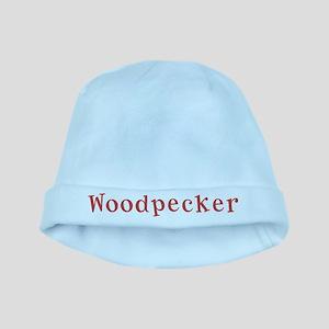 Woodpecker baby hat