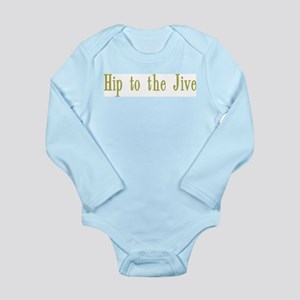 Hip to the Jive Long Sleeve Infant Bodysuit