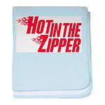 Hot in the Zipper baby blanket