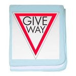 Give Way baby blanket