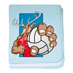 Bucks County Volleyball baby blanket
