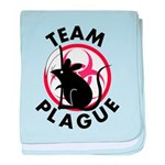 Team Plague baby blanket