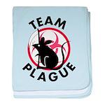 Team Plague baby blanket