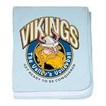 Vikings baby blanket