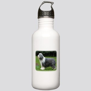 Bearded Collie 8R002D-16 Stainless Water Bottle 1.