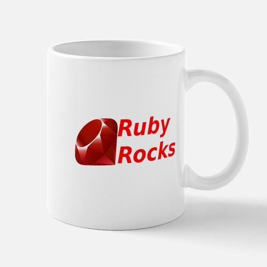 Ruby Rocks Mug