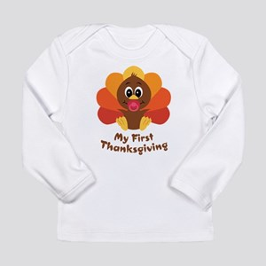 My 1st Thanksgiving Long Sleeve Infant T-Shirt