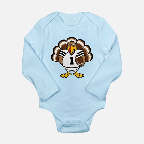 Turkey Bowl Long Sleeve Infant Bodysuit