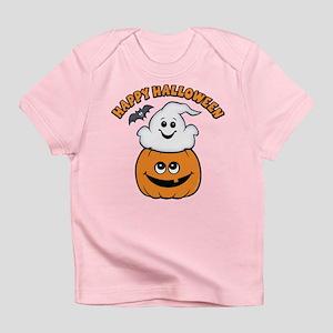 Ghost In Pumpkin Infant T-Shirt