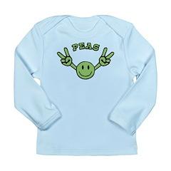 Peas Long Sleeve Infant T-Shirt