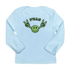 Peas Long Sleeve Infant T-Shirt