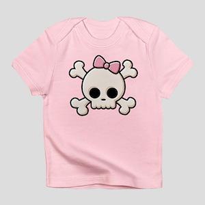 Cute Skull Girl Infant T-Shirt
