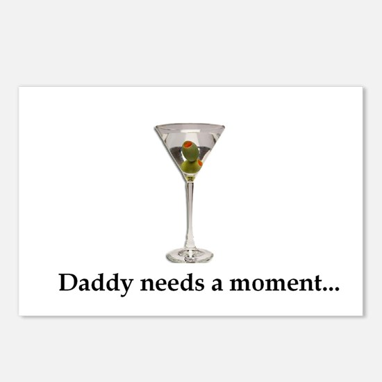 Daddy Needs A Moment... Postcards (Package of 8)