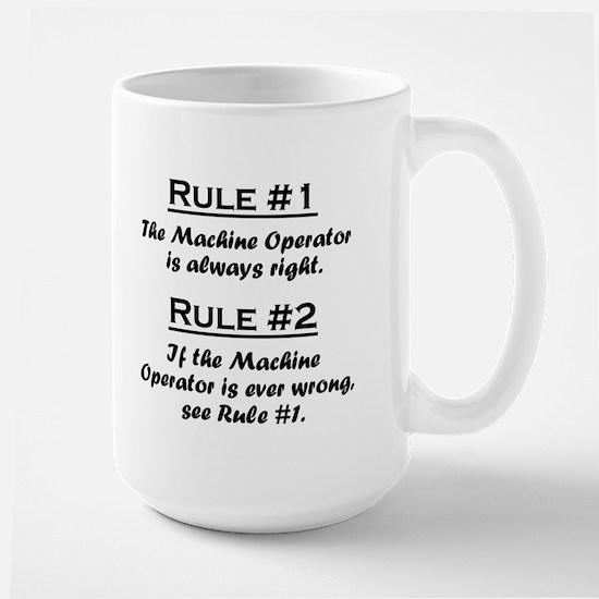Machine Operator Large Mug
