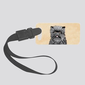 Affenpinscher Small Luggage Tag