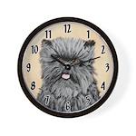 Affenpinscher Wall Clock