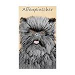 Affenpinscher Sticker (Rectangle 10 pk)