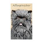 Affenpinscher Sticker (Rectangle 50 pk)