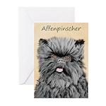 Affenpinscher Greeting Cards (Pk of 10)