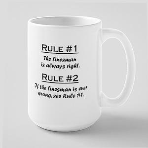 Linesman Large Mug