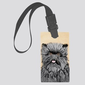 Affenpinscher Large Luggage Tag