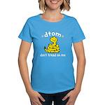 DTOM Cartoon Women's Dark T-Shirt