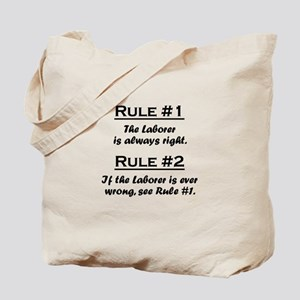 Laborer Tote Bag