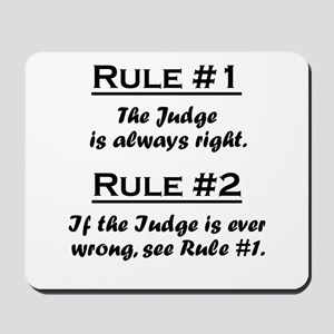 Judge Mousepad