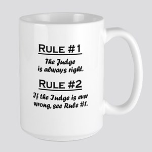 Judge Large Mug