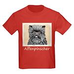 Affenpinscher Kids Dark T-Shirt