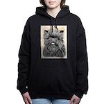 Affenpinscher Women's Hooded Sweatshirt