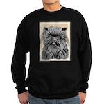 Affenpinscher Sweatshirt (dark)