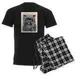Affenpinscher Men's Dark Pajamas