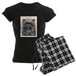 Affenpinscher Women's Dark Pajamas