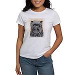 Affenpinscher Women's Classic White T-Shirt