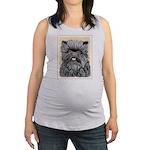 Affenpinscher Maternity Tank Top