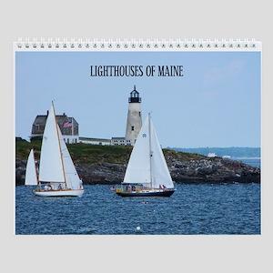 Lighthouses Of Maine Calendar