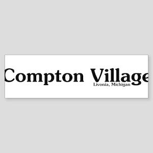 Compton Village Sticker (Bumper)