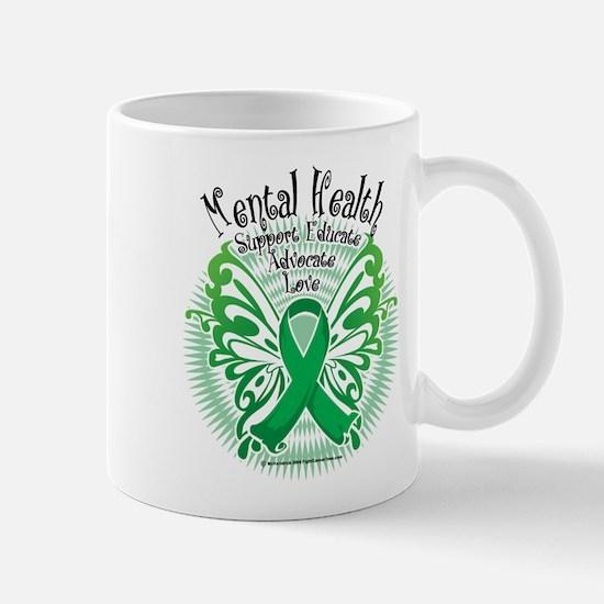 Mental Health Butterfly 3 Mug